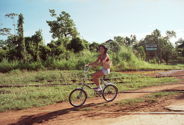 Cool bike near Matanzas, Cuba.
