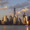 New York skyline, July 2016.