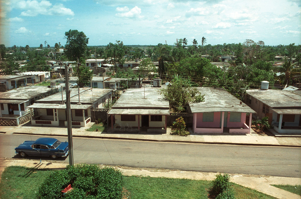 Nice view of the town of Pedro Betancourt.