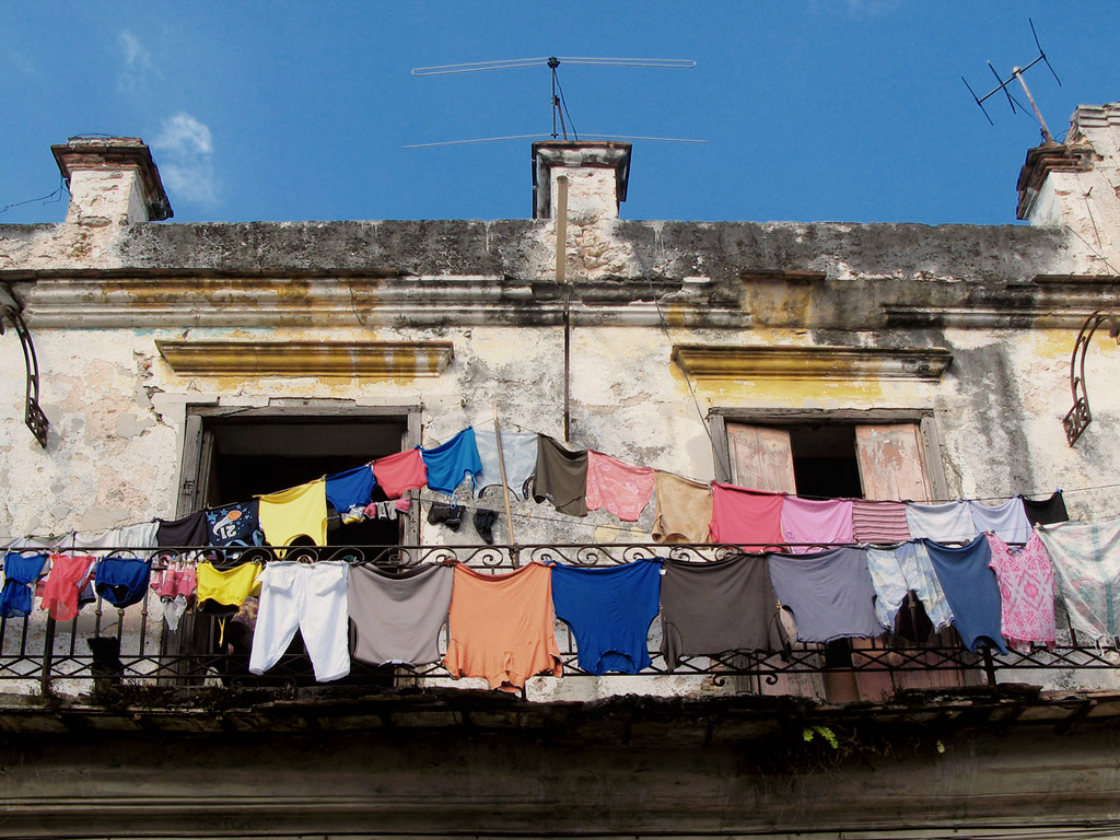 Cuban laundry.