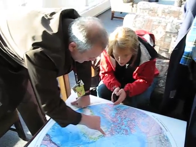 A video of a scientist talking about the ice in the Arctic right before we left on our trip.