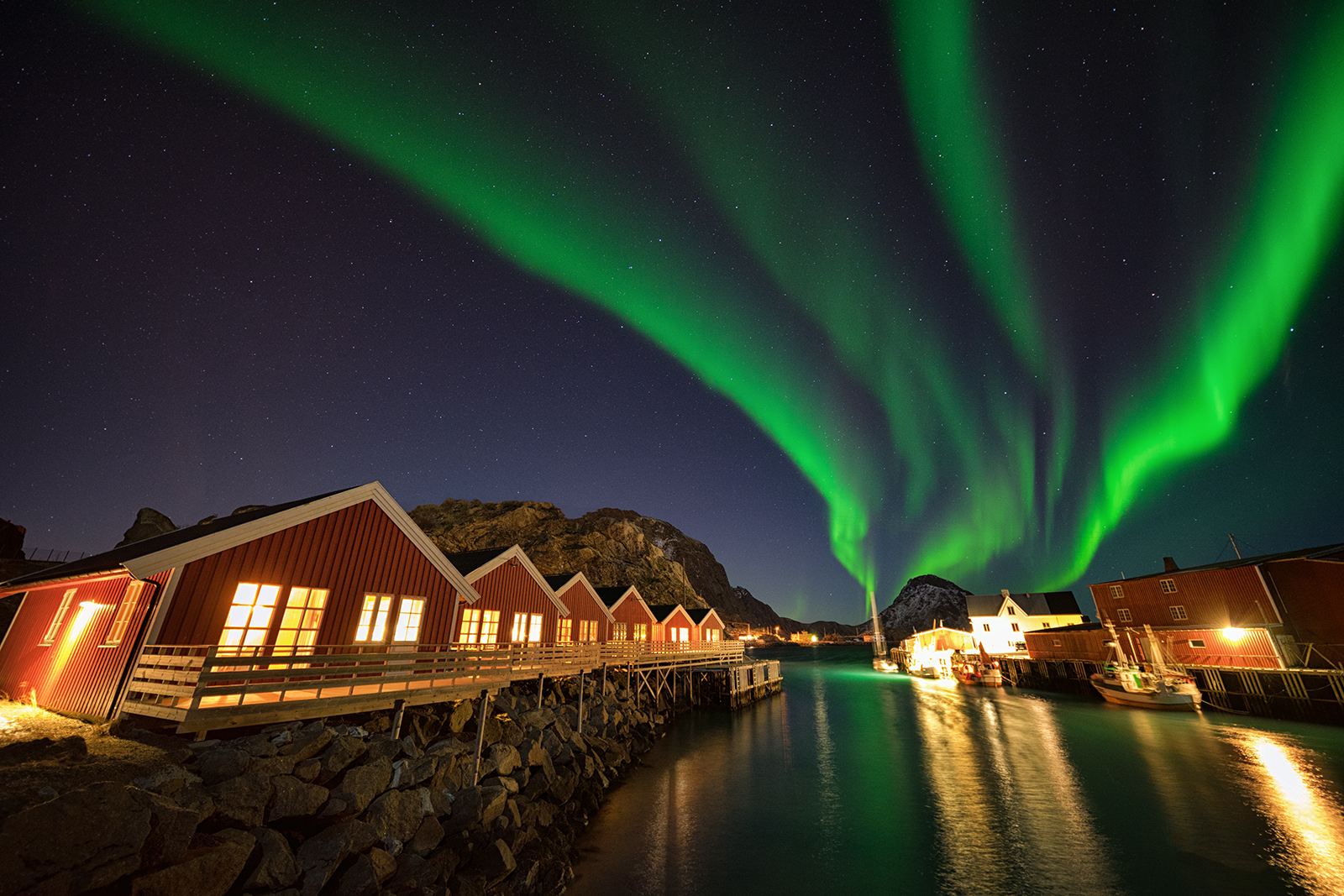 aurora, northern lights, norway, long exposure