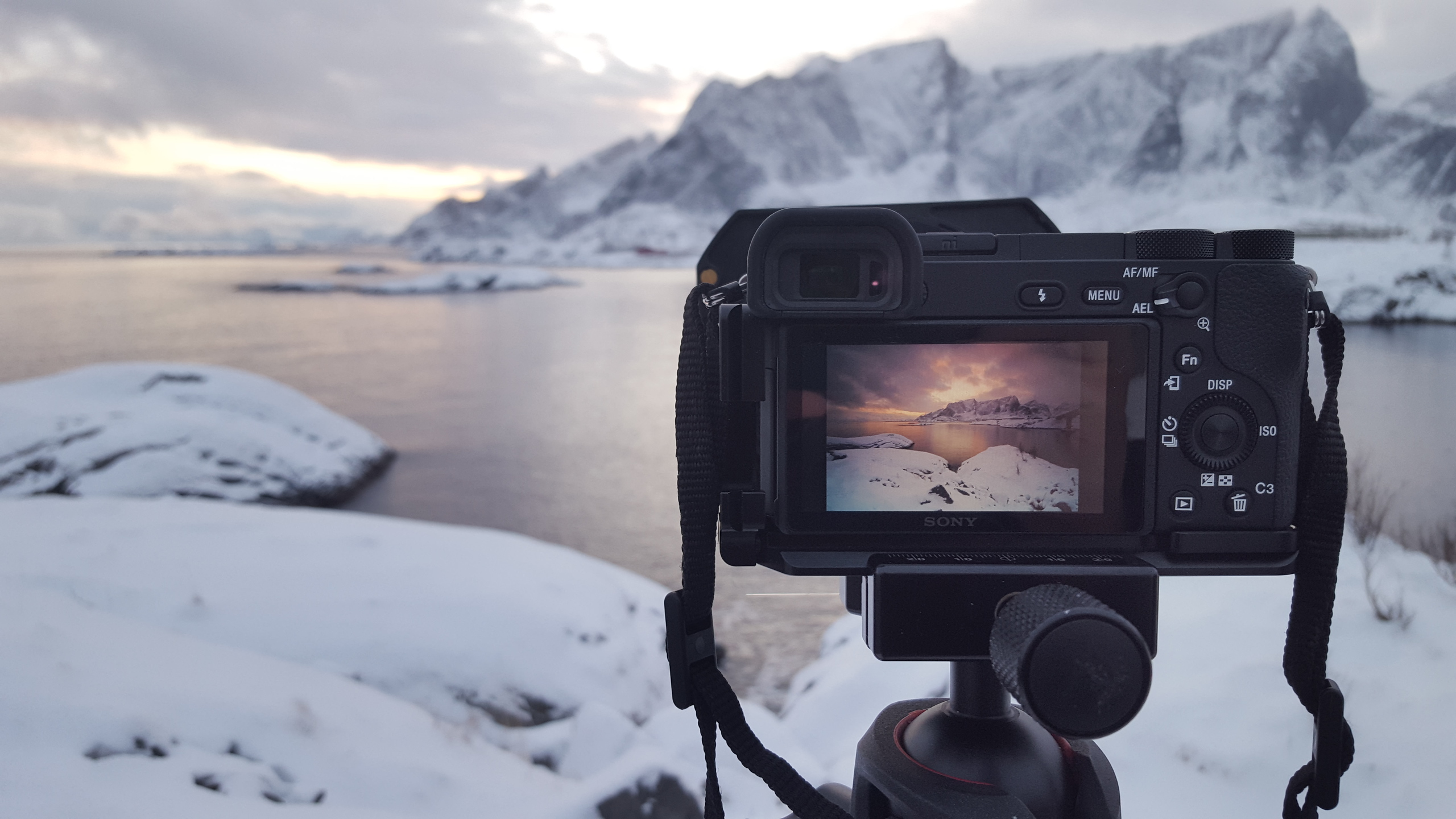 lofoten, norway, sony, sony a6500, sony 10-18, moutains, sunset