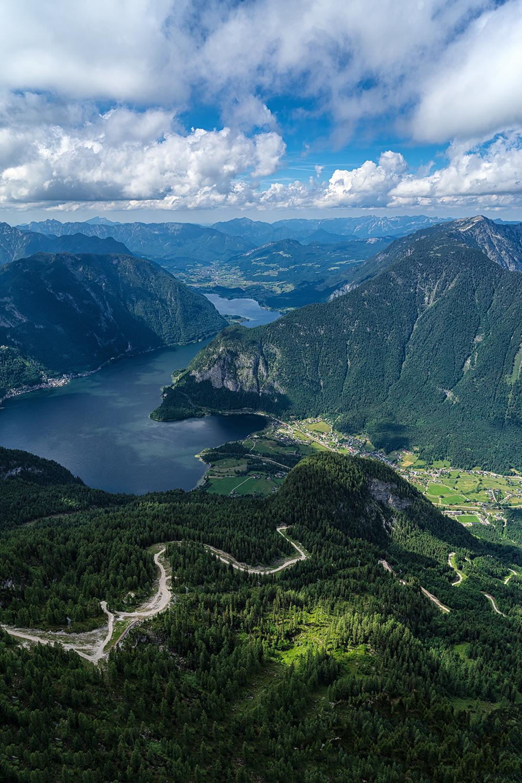 Salzkammergut, Austria, hallstatt, hdr, sony, sony a6500, landscape, mountains, threes, road, water, sky, villages