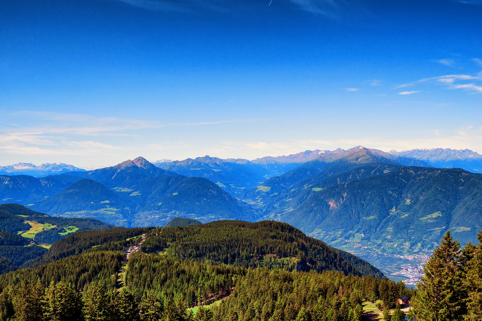 Dolomite, merano, italy, mountains, threes, green, sony, sony a6500