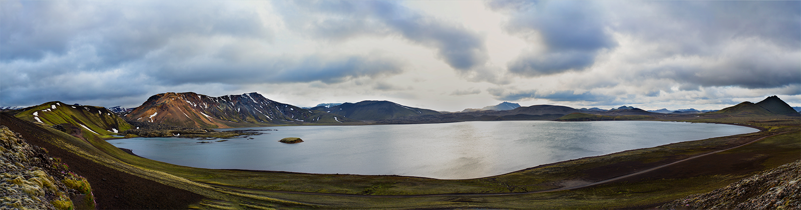 Landmannalaugar, iceland, panoramic, mountains, lake, colors, canon