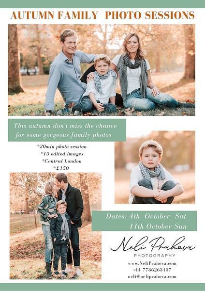 1 Autumn Family Photo sessions