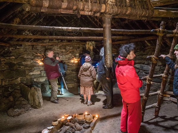 Bostadh Iron Age House