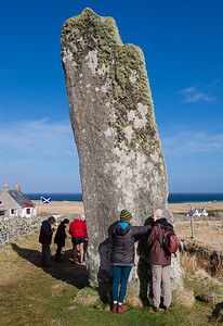 Clach an Trusal - Scotland's tallest standing stone