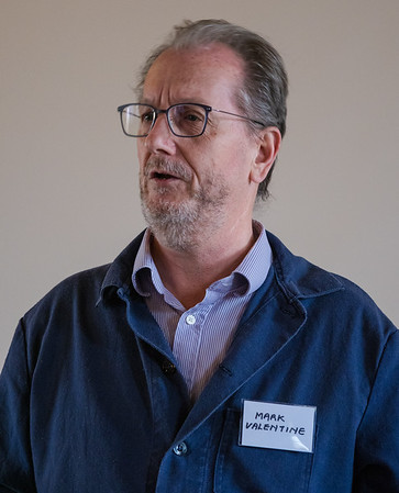 Mark Valentine speaking on the Forest of Bowland