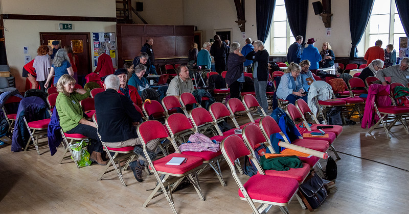 Gathering for the Moot, St Mary's Centre, Clitheroe