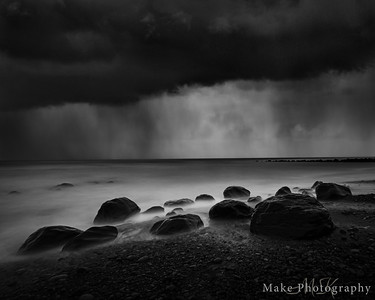 Stormy Ohawe Beach