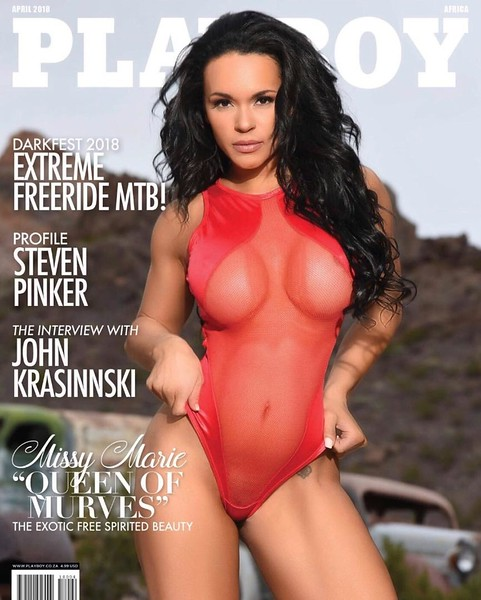 Playboy Africa Cover April. Photo By: Luis Gomez @universe137studios