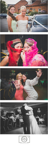 Gary and Annas Wedding party at Bowburn Hall