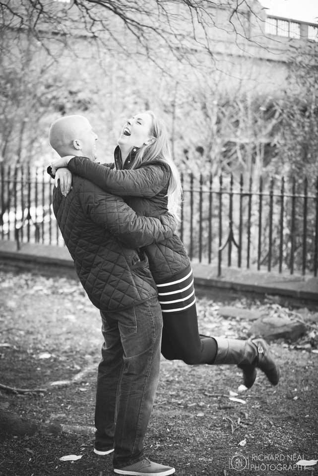 Newcastle engagement shoot