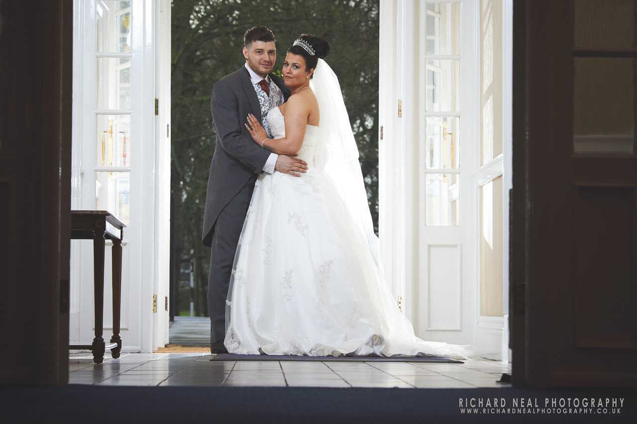 Shotton hall wedding