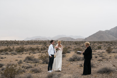 KRISTEN KAY PHOTOGRAPHY | Las Vegas Rainy, Cloudy Desert Elopement, Weddings by Bonnie