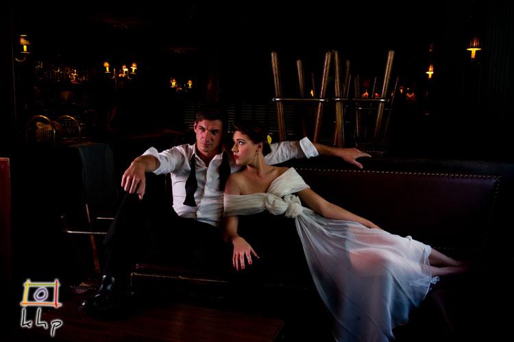 Lauren & Jake at the Piano Bar, Hollywood CA