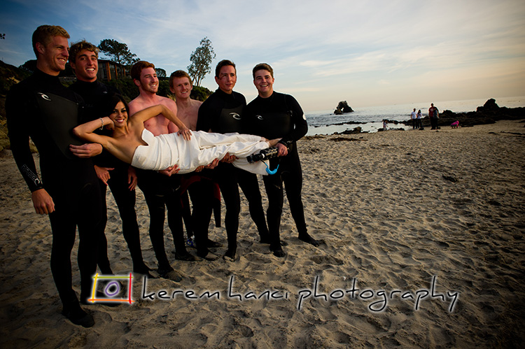 Surfers' lucky day: they found a mermaid