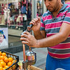 Throughout Istanbul, there are so many vendors selling freshly squeezed juices.