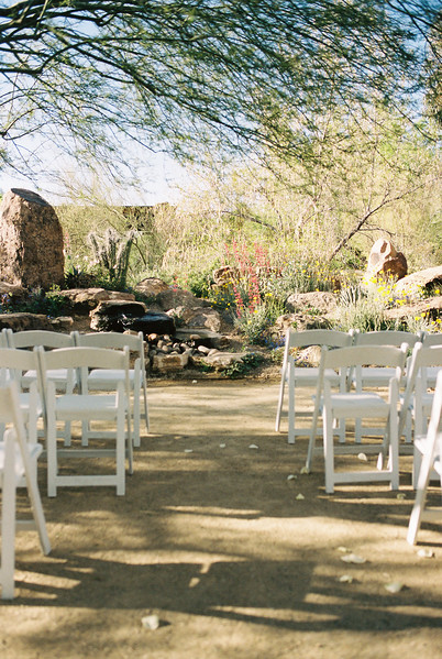 Springs Preserve Fountain Wedding