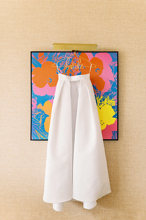 white bridal jumpsuit and long detachable skirt with pockets - designed by Alexia Maria - modern white romper with large bow on the back and detachable skirt - Kristen Kay Photography - Photo and Super 8 Video