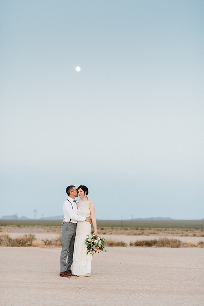 5.8.2017 Josianne & Louis-Philippe Dry Lake Bed Elopement