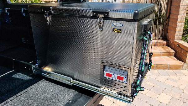 National Luna 90L Twin dual control fridge