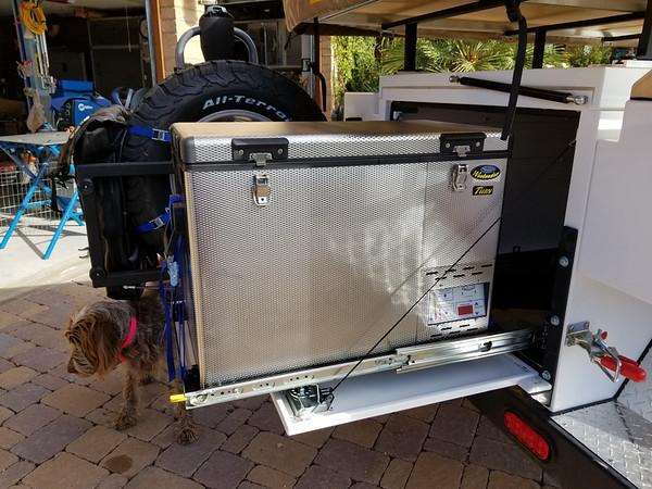 National Luna 50L Twin Weekender Fridge/Freezer