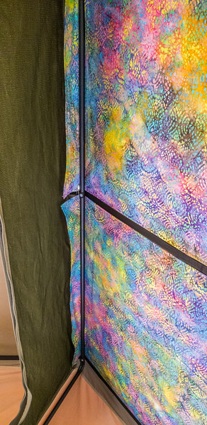 Eezi-Awn Globe Tracker Trailer Roof Top Tent Batik Roof Print Panels