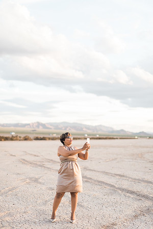 KRISTEN KAY PHOTOGRAPHY | Dry Lake Bed Las Vegas Desert Elopement
