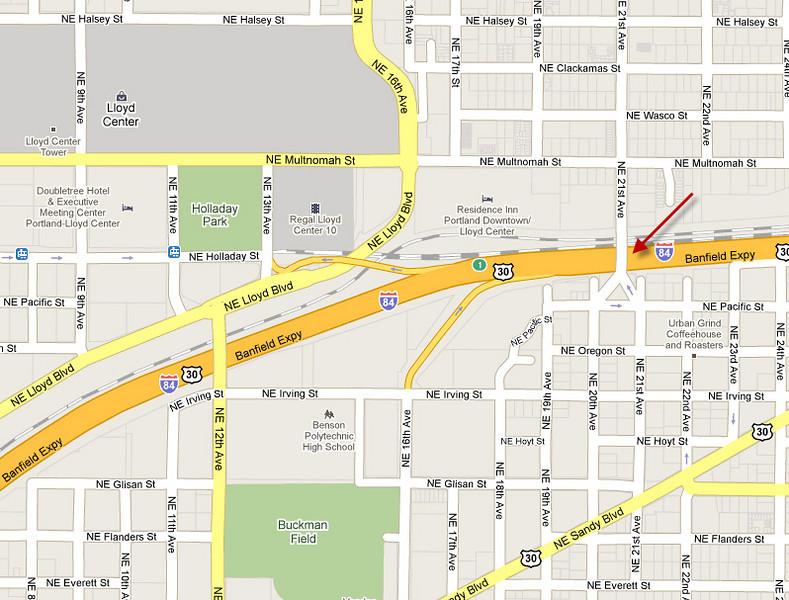 Map I-84