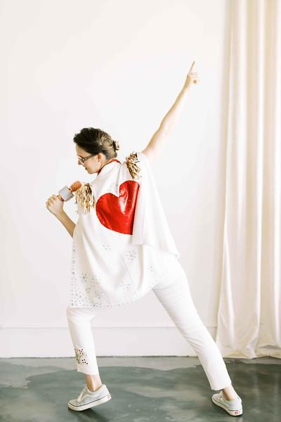 Las Vegas Elvis Officiant - Elopement wedding chapel - modern, minimal, natural light wedding chapel in Downtown Vegas - Kristen Kay Photography - Kristen Krehbiel - Sure Thing Chapel - #chapel #lasvegas #elvis