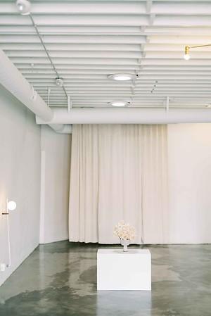 Las Vegas Wedding Chapel - modern, minimal, natural light wedding chapel in Downtown Vegas - Kristen Kay Photography - Kristen Krehbiel - Sure Thing Chapel - #chapel #lasvegas