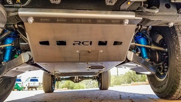 RCI underbody skid plates