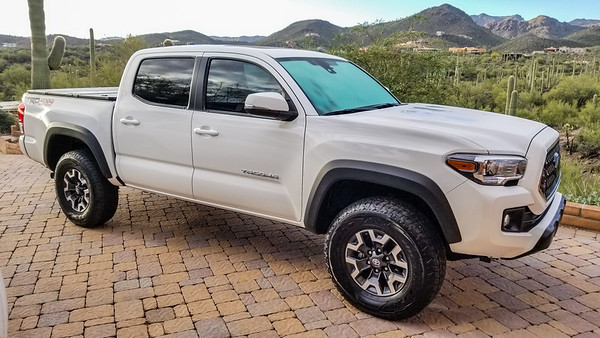 2018 Gen3 Toyota Tacoma Off-Road as brought home