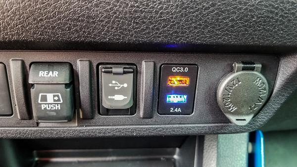 Tacoma USB ports