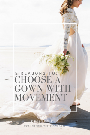 5 Reasons to Choose a Wedding Gown with Movement