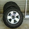 Trailer tires & rims to match 4 Runner