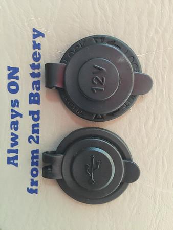Extra rear ports