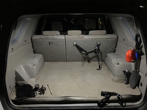 4 runner cargo lighting white LED