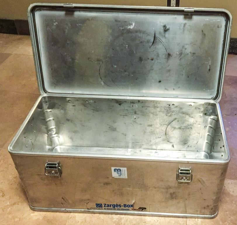 All aluminum Zarges box