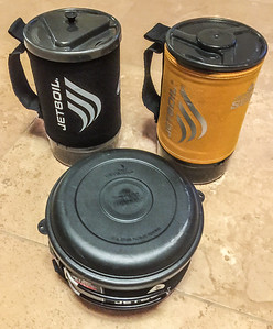 Jetboil 1.8L Grande Java press cup, 1.8L Sumo cup, & 1.5 L pot