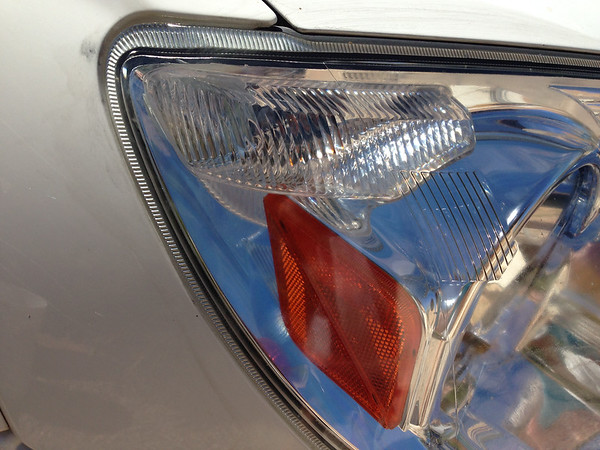 After Headlight restoration using Repel 30% DEET