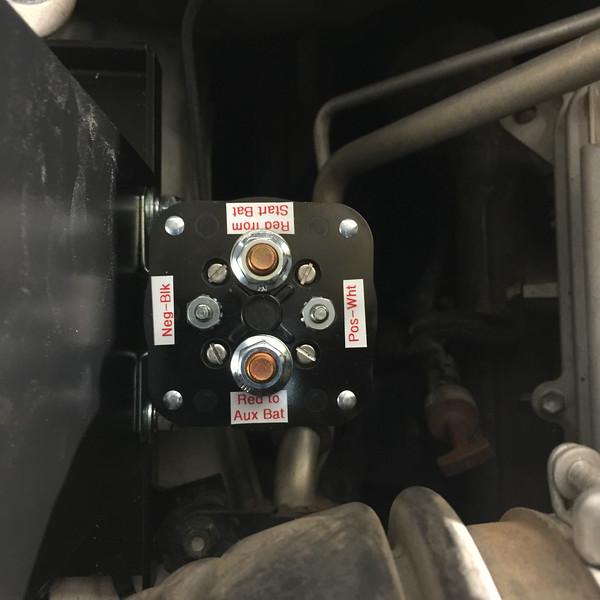 4Runner Second Battery Solenoid