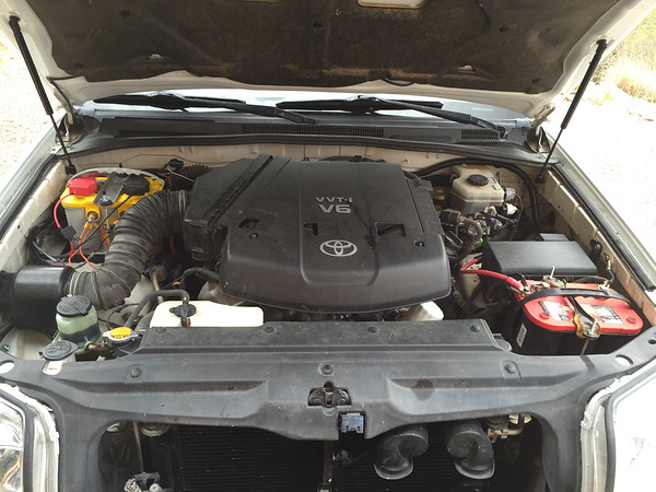 4Runner Second Battery