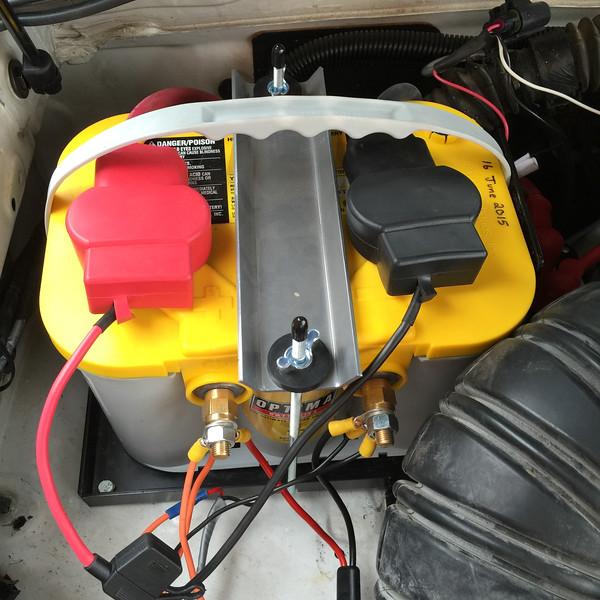 4Runner Second Battery