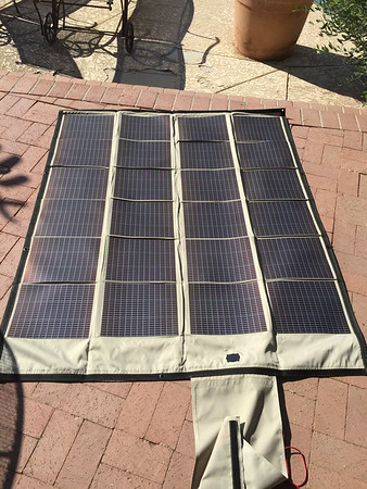 PowerFilm 90W Folding Solar Panel