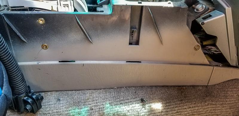 4 Runner Center Console Molle Rack