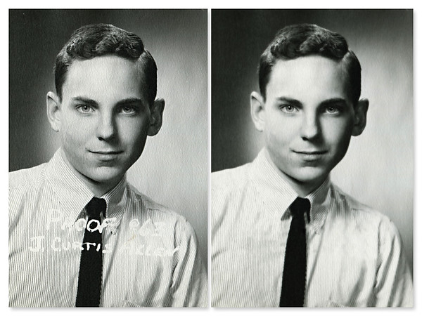 Restoring Old Photos of My Father